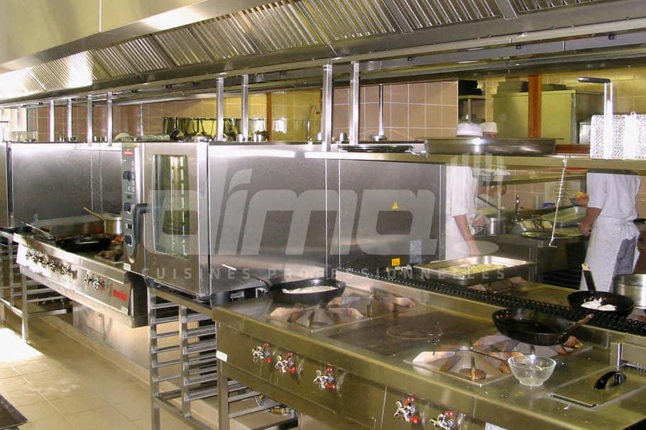 salle de formation MFR Balan cuisine pro