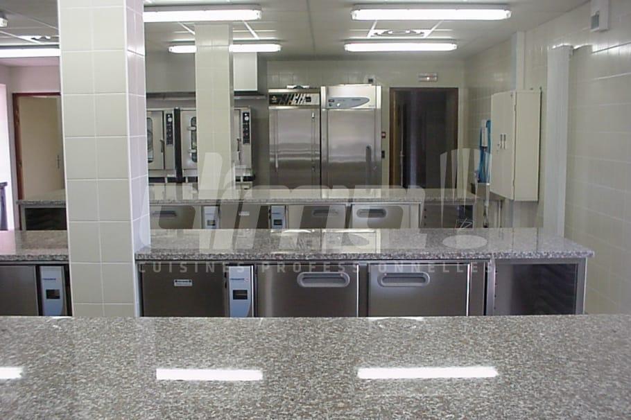 Salle de cuisine pro formation