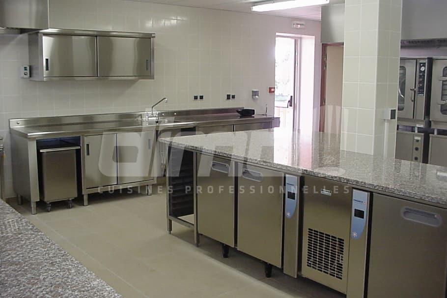 salle de formation cuisine professionnelle