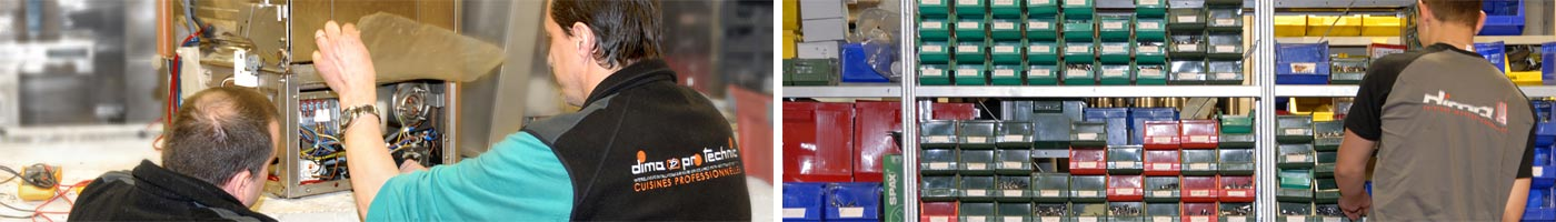 Maintenance et SAV matériel de cuisine pro