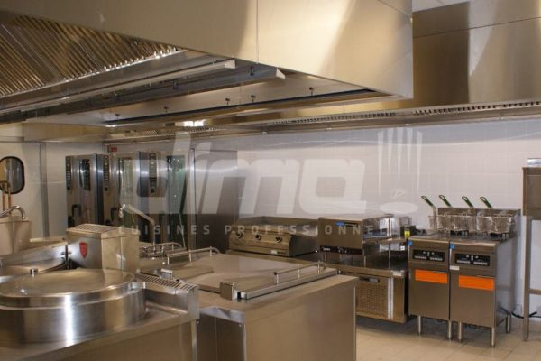Cuisine centrale friteuses frymaster