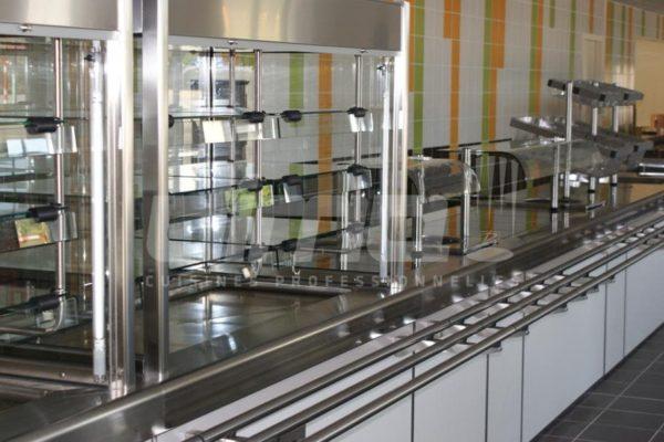 cuisine centrale zone distribution